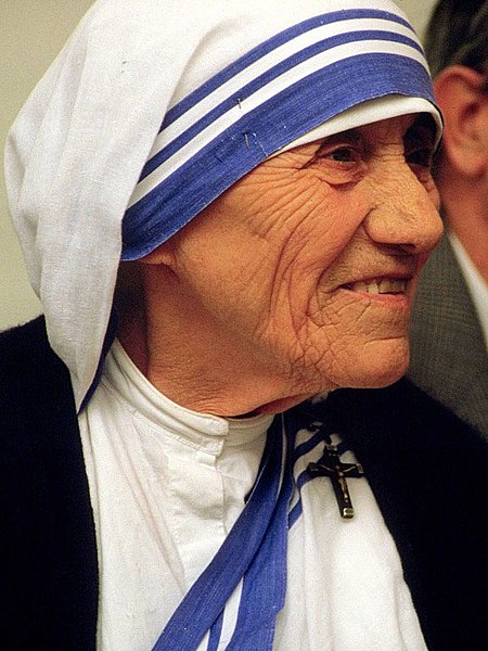 Mother Teresa Memorial Page